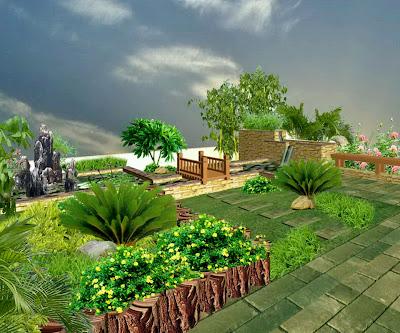 Plate Garden