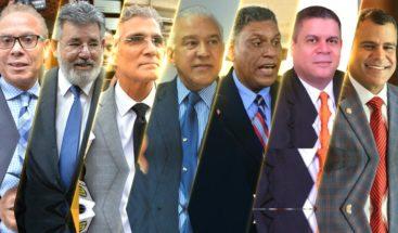 IMPUTADOS DE RECIBIR SOBORNOS POR EMPRESA ODEBRECHET ACUDEN A SUPREMA CORTE DE JUSTICIA PARA AUDIENCIA CONOCIMIENTO JUICIO FONDO