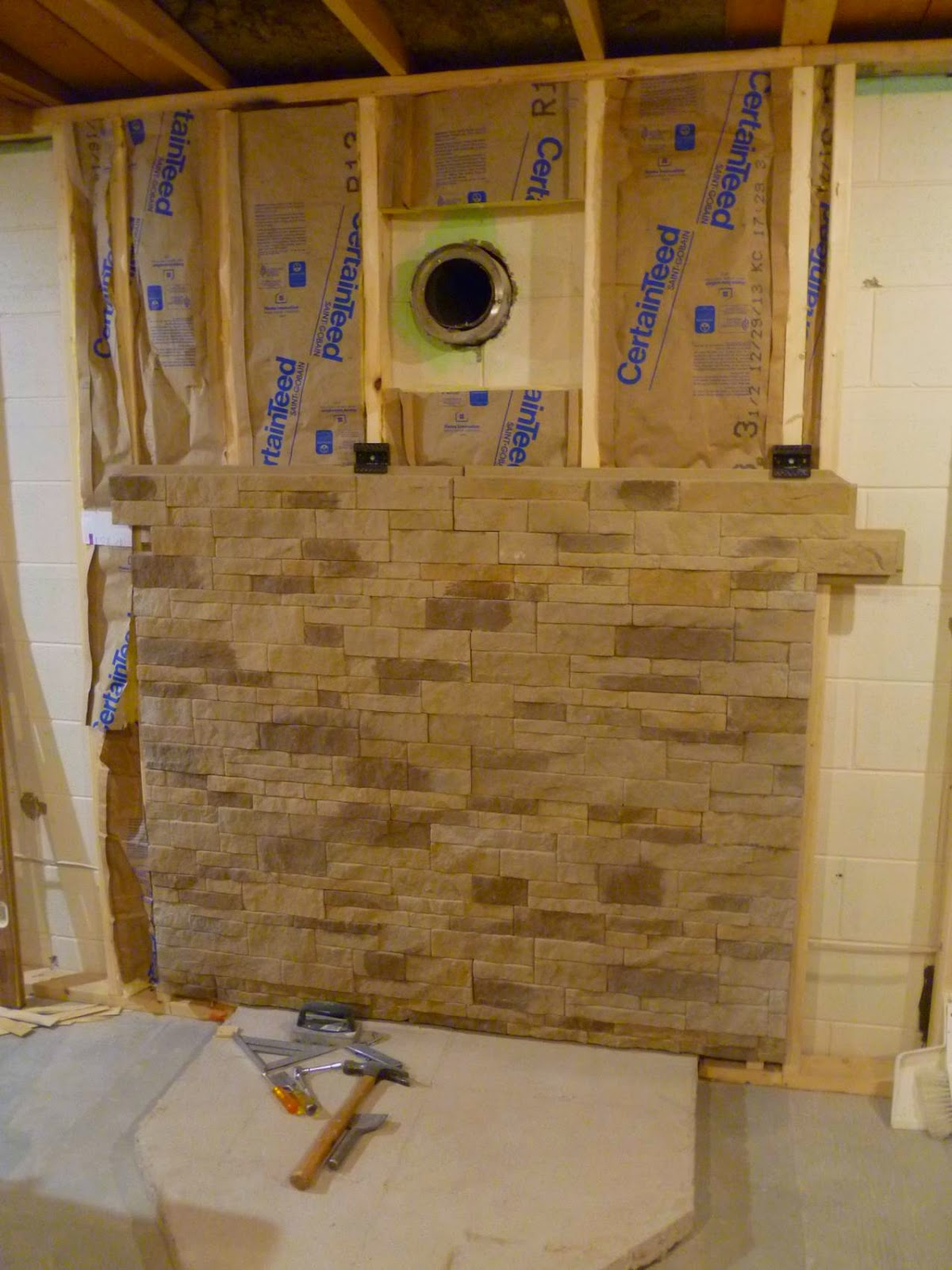 Fabulous Three Things Very Dull Indeed: Basement Remodel Project: Wood  ZP31