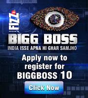 Bigg Boss 10 registration