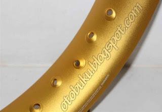 Velg Pelek Wilwood Warna Gold Setengah Lingkaran U Shape