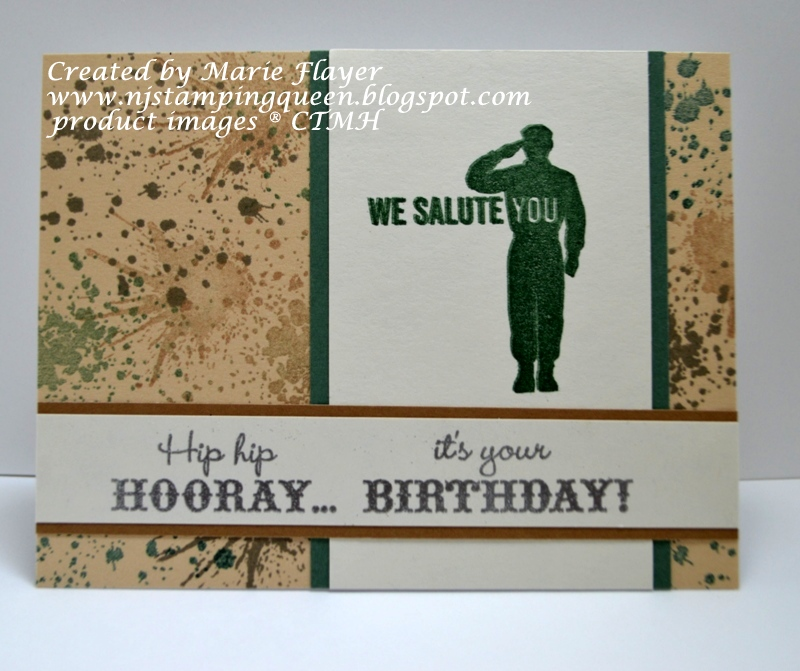 Nj stamping queen masculine birthday card with freshly made sketch 249 this card is for my nephew who will begin his army military service soon after graduating as a 2nd lieutenant in the loyola rotc program bookmarktalkfo Choice Image