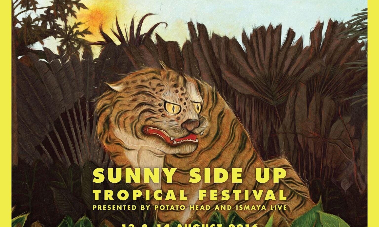 sunny side up festival bali 2016