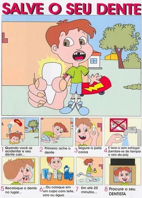 como salvar o dente