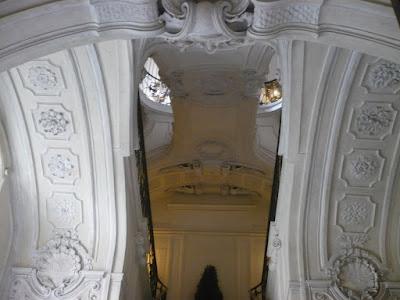 Palazzo Reale di Torino scala delle forbici
