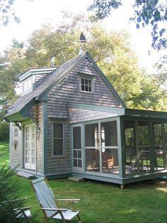 รวมแบบบ้านไม้คันทรี่หลังเล็