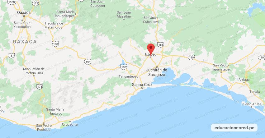 Temblor en México de Magnitud 4.0 (Hoy Jueves 28 Noviembre 2019) Sismo - Epicentro - Ixtepec - Oaxaca - OAX. - SSN - www.ssn.unam.mx