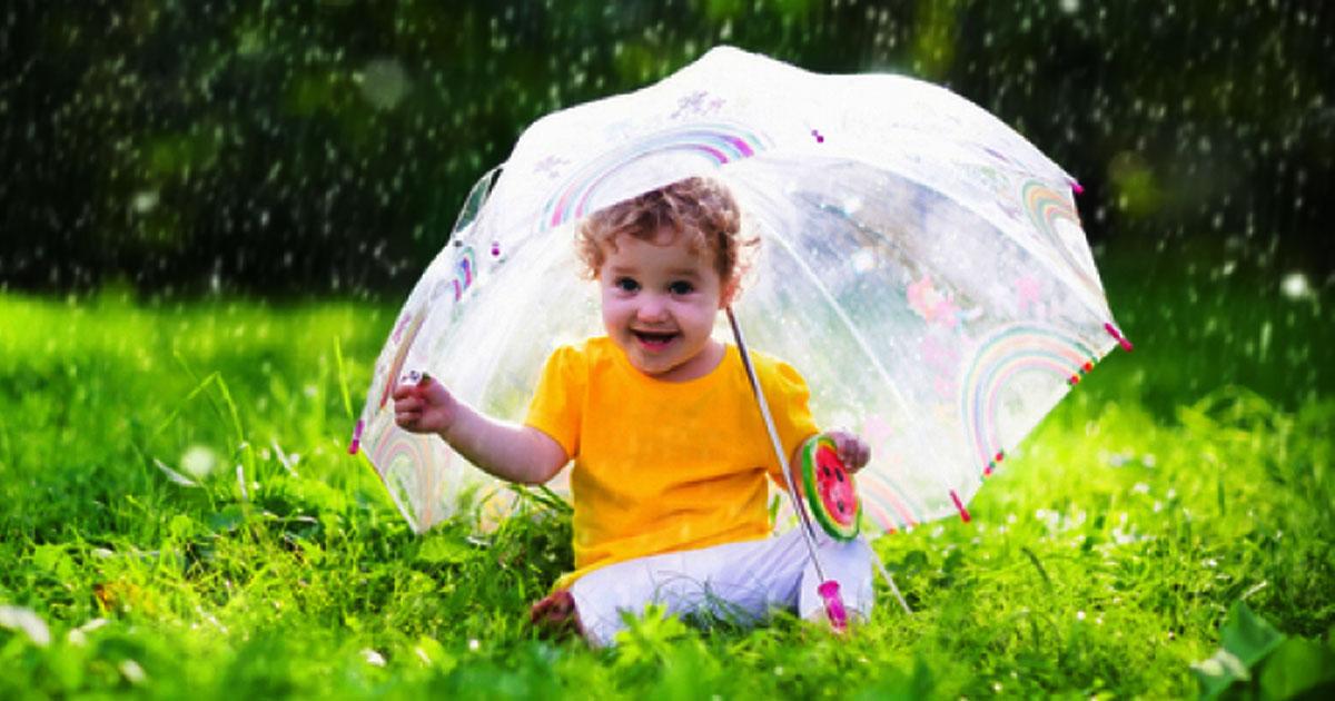 Khám phá bí mật cho con chơi gì vào những ngày trời mưa?