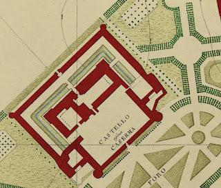 castello sforzesco ghirlanda brera mappa milano