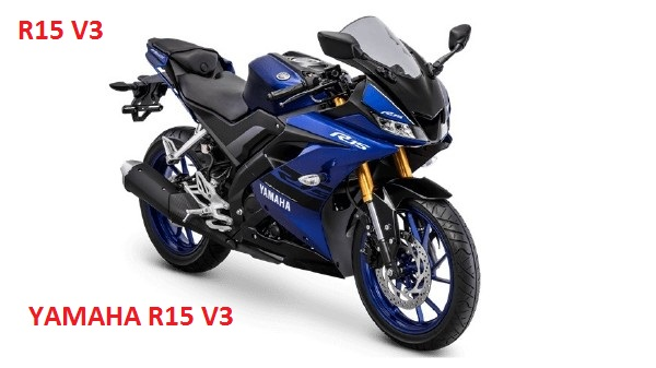 All New 2018 Yamaha  R15 V3 blue & black shade