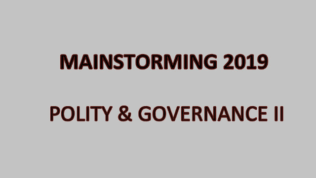 Polity and Governance II - Download pdf