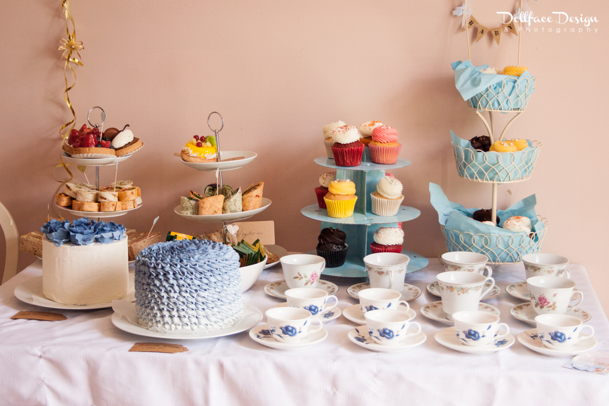 Afternoon Tea Themed Baby Shower Pink Baby Shower Punch Ideas