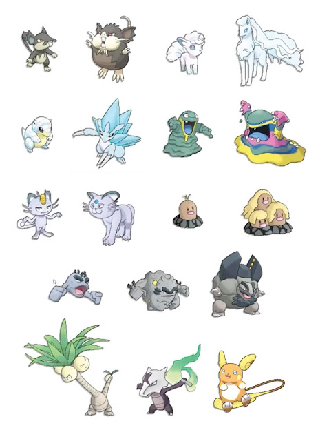 DominioGamer - PokemonGo Formas Alola Kanto