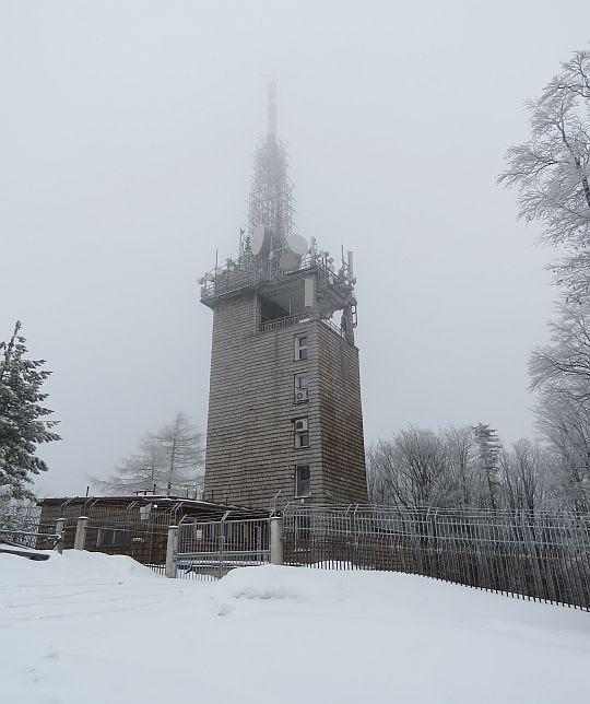 Wieża RTON na Luboniu Wielkim.