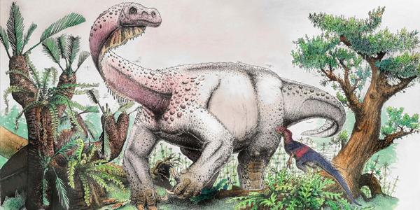 Descoberto o maior dinossauro terrestre que caminhava pela terra há 200 milhões de anos