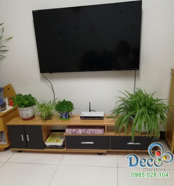 Kệ Tivi Đẹp Để Sàn Deco DB09
