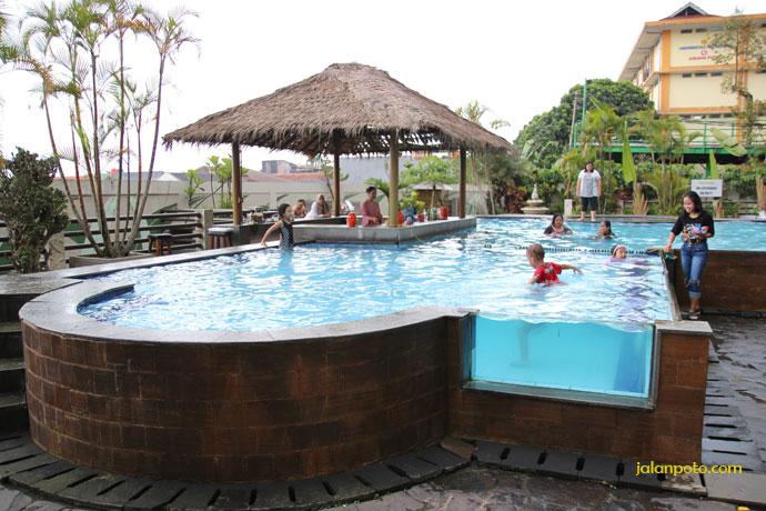 Kolam renang Hotel Banana Inn Bandung