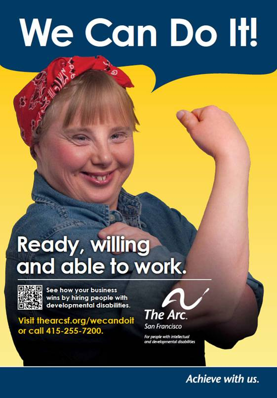 love the arc s new ad for employment of people with disabilities