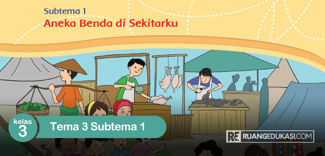 Kunci Jawaban Tema 3 Kelas 3 Subtema 1