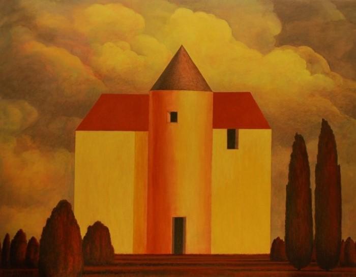 Иранский художник. Javad Azarmehr