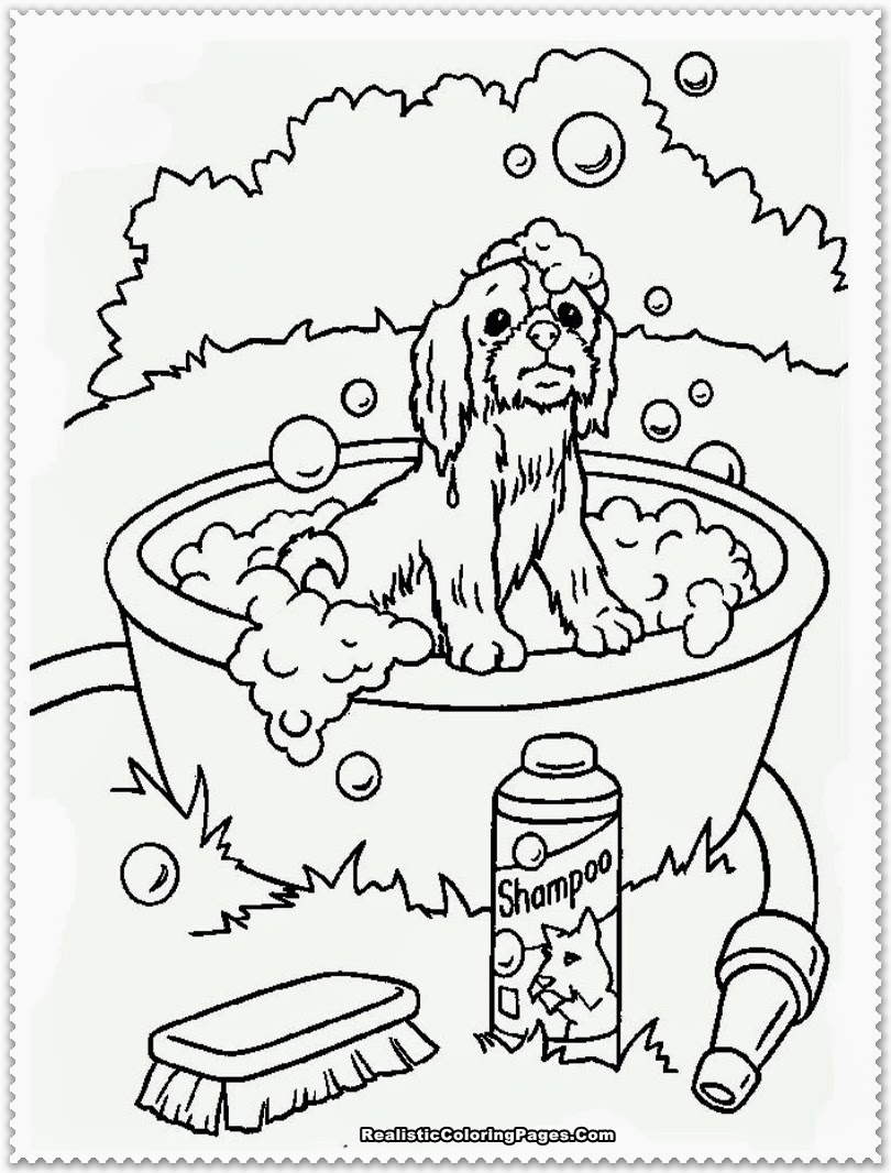 Designed Animals Coloring Pages