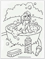 puppy coloring pages for kids printable