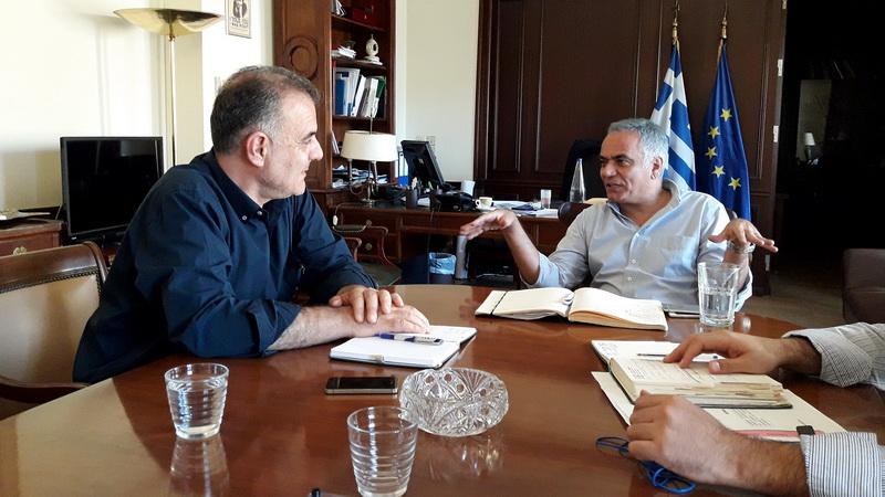 Σε τρία Υπουργεία ο Δήμαρχος Σαμοθράκης για την αποκατάσταση των ζημιών στο νησί