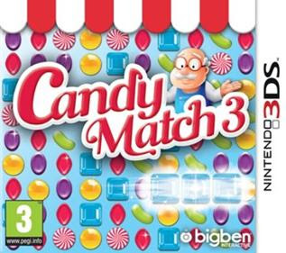 Candy Match 3, 3ds, español, Mega