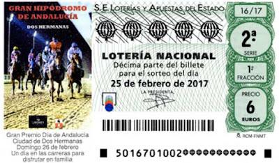 loteria nacional del sábado 25 de febrero de 2017