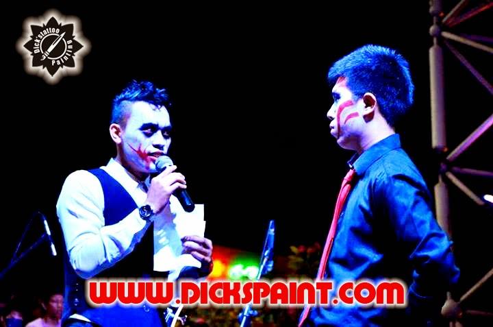 face painting halloween jakaeta