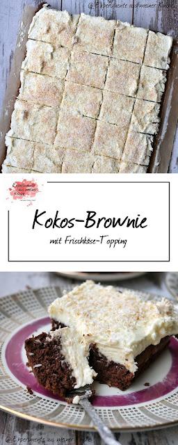 Kokos-Brownie   Kuchen   Rezept   Backen