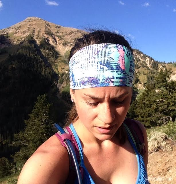 Hiking to Box Elder Peak, Utah, Hiking in Utah, Fitness Fox Headbands