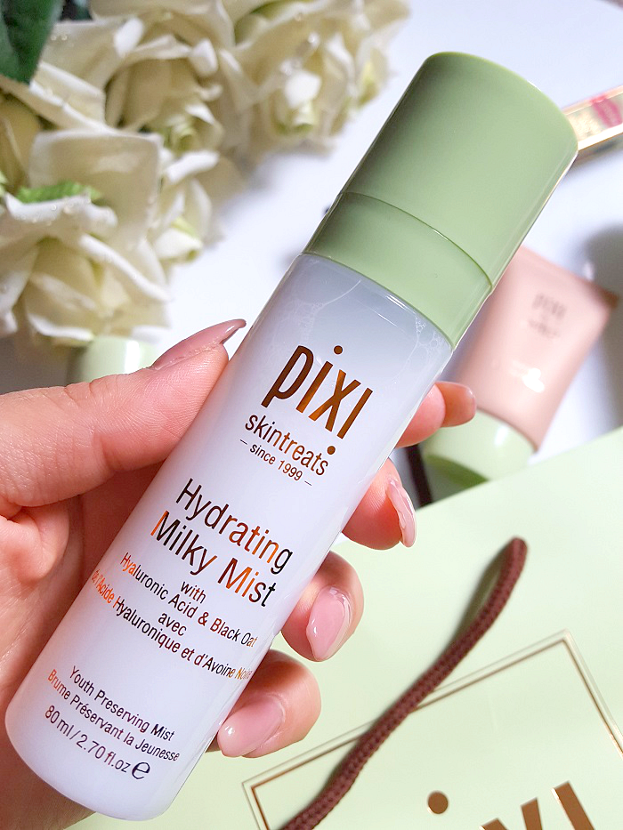 Review: pixi by Petra - Hydrating Milky Mist - pixi beauty erfahrungen