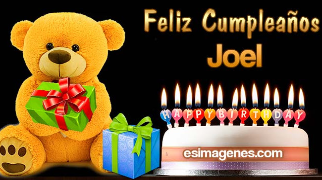 Feliz Cumpleaños Joel