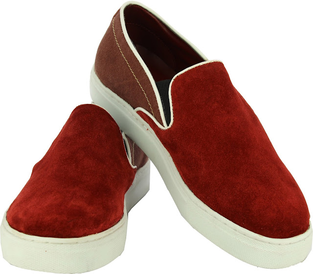 Alberto Torresi Saputo Red Casual Shoes - Price Rs 2995
