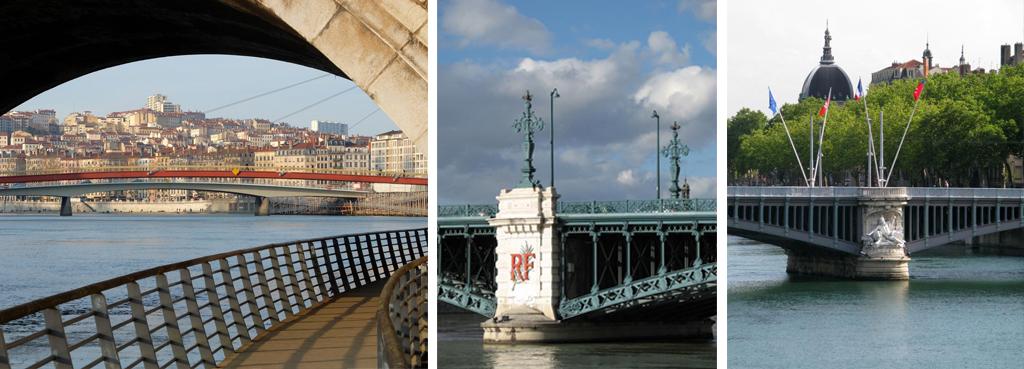 Visite guidée Lyon - Ponts de Lyon