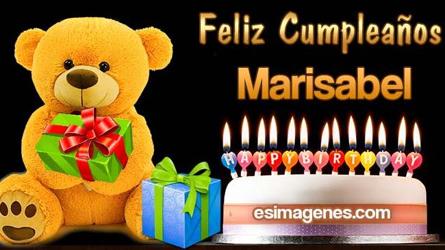 Feliz Cumpleaños Marisabel