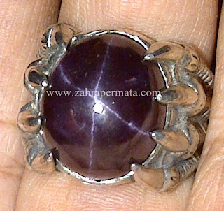Cincin Batu Garnet Star - ZP 557