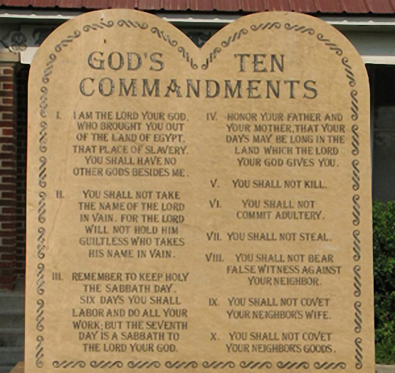 Ten commandments for dating my daughter. Dating for one night.