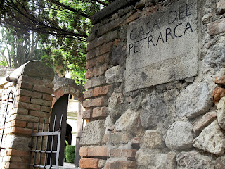 The poet Petrarch's house in Arquà Petrarca