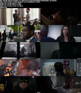 Captain America Civil War 2016 BRRip 1GB Hindi Dual Audio 720p Download