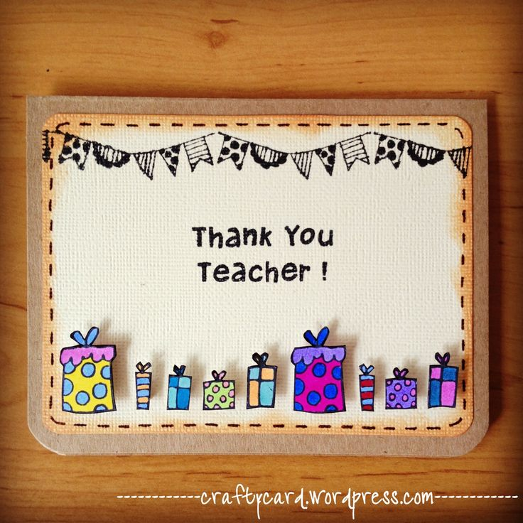 Teachers Day Card Making Ideas Part - 49: Teachers Day Card Making Ideas