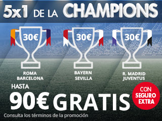 suertia promocion Champions League 10-11 abril