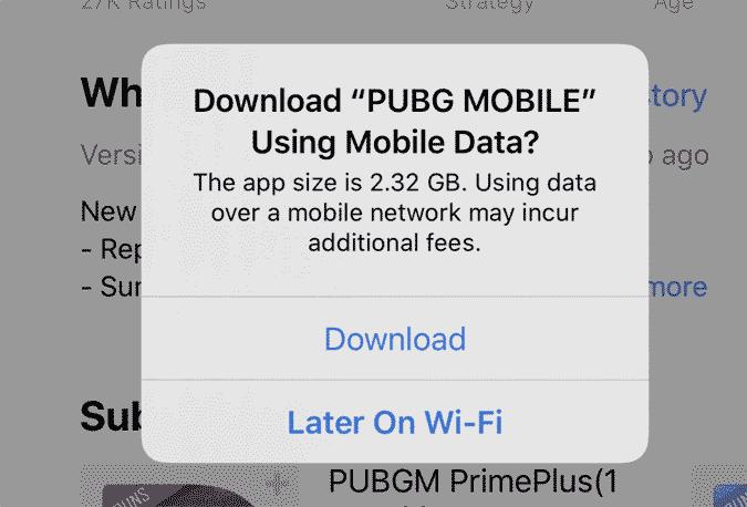 Pembaruan iOS Hapus Batas Unduhan di App Store via Koneksi Data