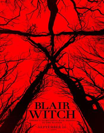 Poster Of Blair Witch 2016 English 650MB HDCAM x264 Free Download Watch Online downloadhub.net