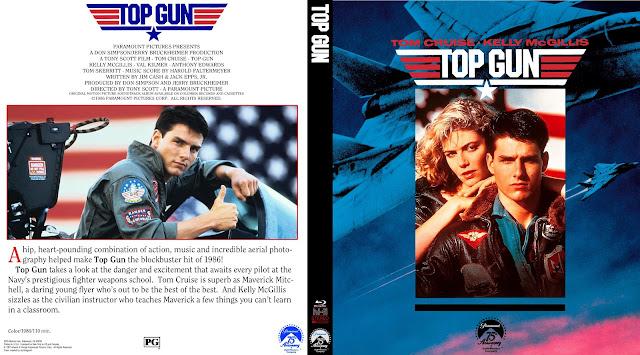 Top Gun Bluray Cover