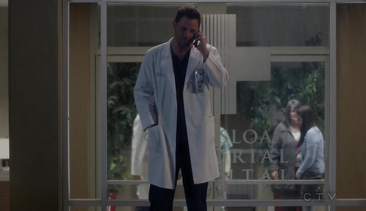 Grey's Anatomy 13x22 Leave It Inside