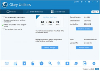 Glary Utilities Pro Serial Key 2015 Free Download