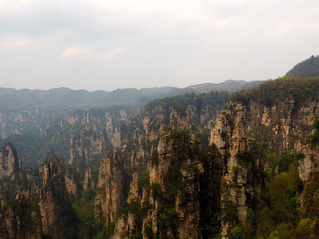 Tianzi Mountain area of Zhangjiajie National Park, China