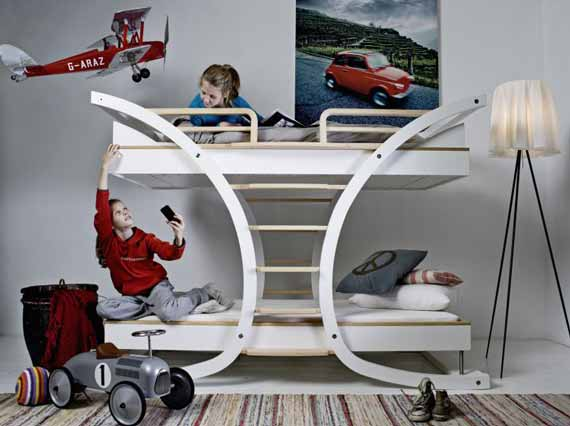Contemporer Kids Bunk Beds
